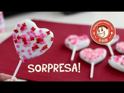 ♥ Cake Pops Sorpresa! ♥ San Valentín - 14 de Febrero - El Guzii