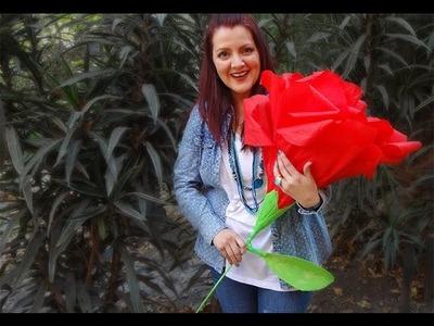 Chuladas Creativas :: Rosas Gigantes :: Ramos de Rosas Crepe