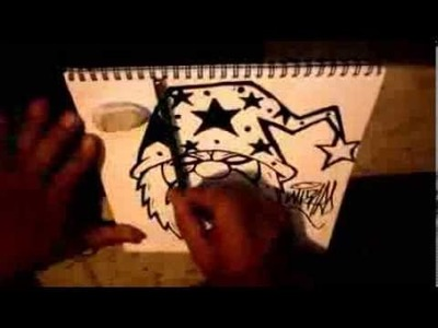 Como Dibujar un Wizard con Plumon de Marks a lot - How to draw a Wizard