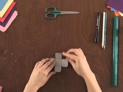 Como Hacer Dados de Papel : Proyectos de Arte en Papel