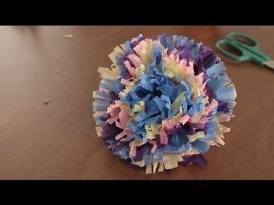 Como Hacer Flores Hawaianas de Papel : Proyectos de Arte en Papel