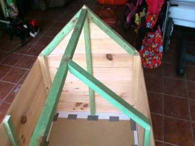 Construir caseta de madera para perro