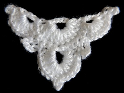 Crochet : Medio Cuadrado # 4