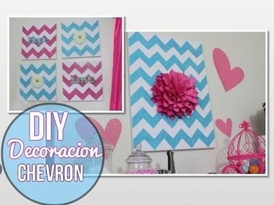 DIY Decoracion Chevron By JasminMakeup1