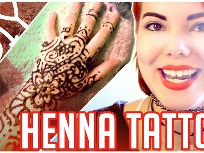 ★ DIY ¡Tatuaje de HENNA! ★