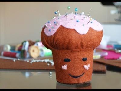 DIY: Un cupcake para tus alfileres