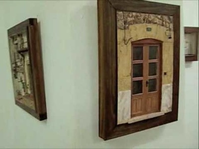 Exposición de Cuadros en Relieve en Molta Barra