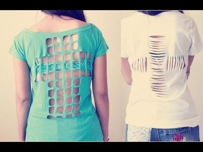 HTM: Cortes en Camisa (forma de cruz)