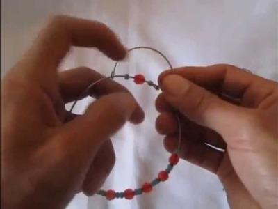 Mandala simple de alambre