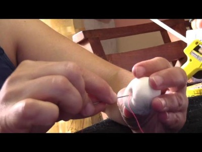 Muñecos soft. conejito alfiletero.rabbit needle case 2.2 subtitulado.  proyecto 8