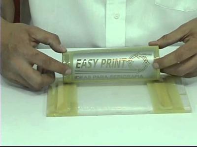 Opacado y gravado de vasos con satinador gel