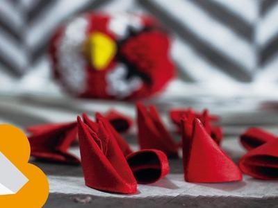Origami modular triangular ( Origami 3D )