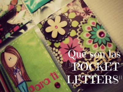 ¿Que son los Pocket letters? ¿Como los hago? * Creaciones Izzy