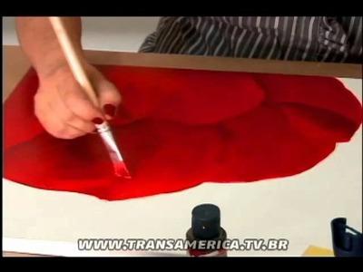 Tv Transamérica - Tela de tulipa