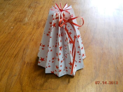 Bolsita tableada para regalo -Pleated bag for gift-