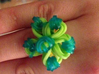 Como hacer flores con gomitas