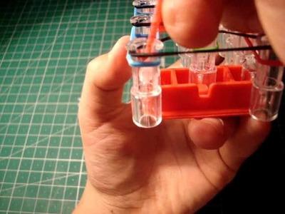 Como hacer una pulsera triple con rainboow loom o gomitas (con telar)