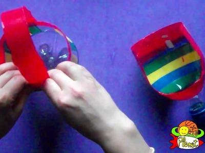 Cómo realizar un cubo y un pala con una botella
