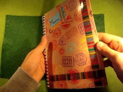 Como utilizar una tijera de bordes y hacer una pagina de smash book