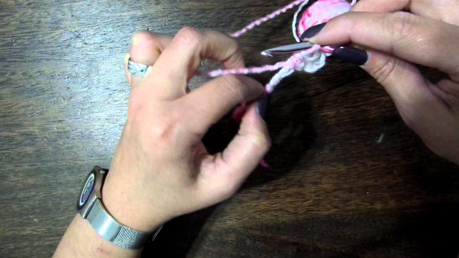 Crochet - cómo tejer una media vareta (medio punto alto)