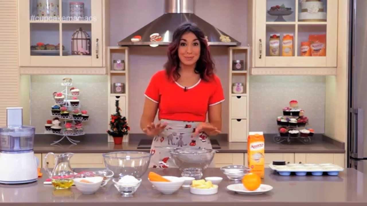 Cupcake Maniacs 2: Cupcakes de zanahoria con crema de queso