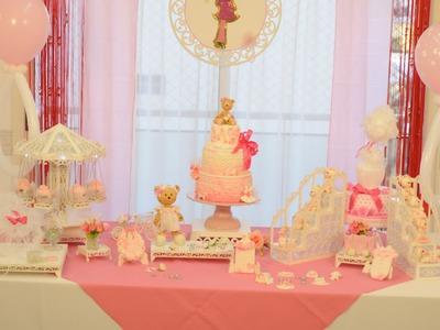 Decorar Galletas con Stenciles y Glase - Souvenirs Baby Shower Nenas