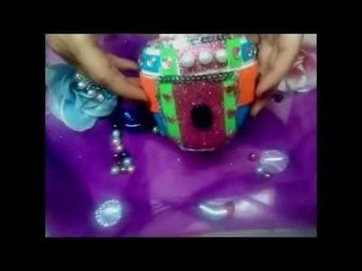 DIY Decorando envases vacios. Decorating empty containers