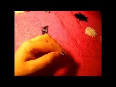 Dos corazones encontrados anillo de peyote stitch#1