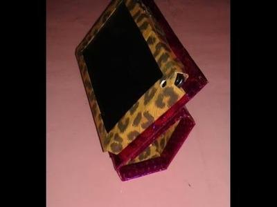Funda protectora para tablet hecha d carton !!!