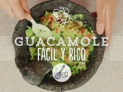 Guacamole re fácil - receta mexicana | Craftingeek*