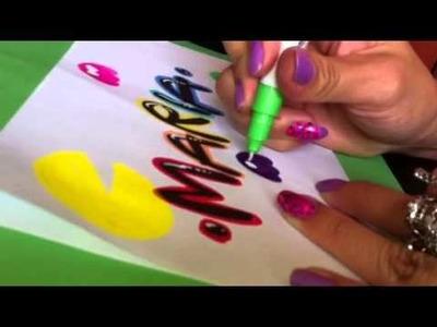 Letra Timoteo - decoración Pacman