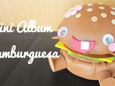 Mini Álbum Hamburguesa (Manualidad 139)