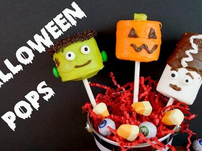 Paletas de Bombones y Chocolate Para Halloween!