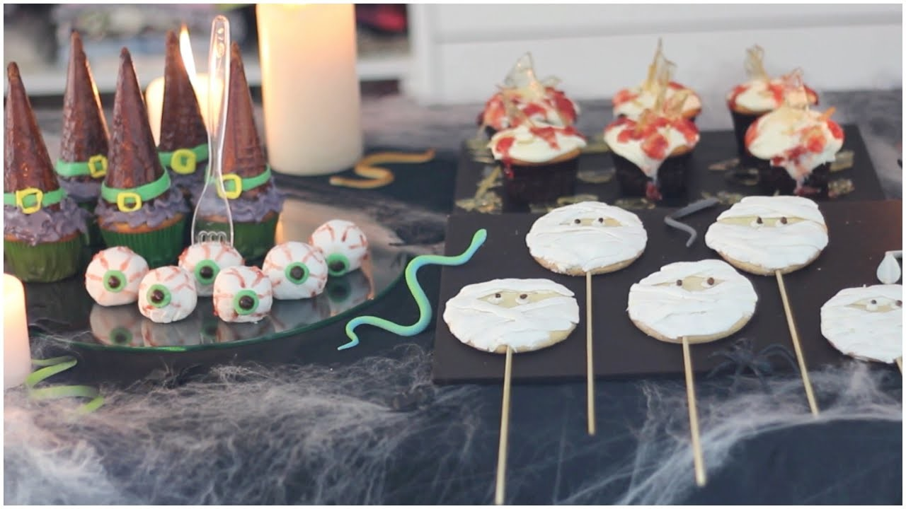 Postres fáciles para Halloween   What The Chic