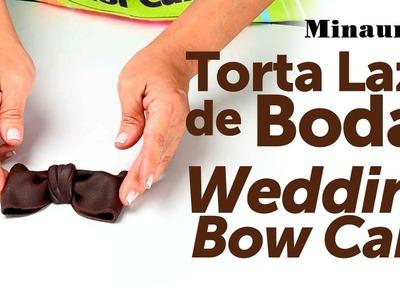Torta Lazo de Bodas - Minauri QMCreativ@s 04 Tortas y Ponquecitos