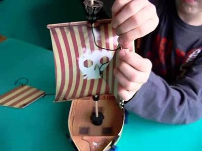 Video para armar un barco pirata   Tus aventuras con Luca y Zoe