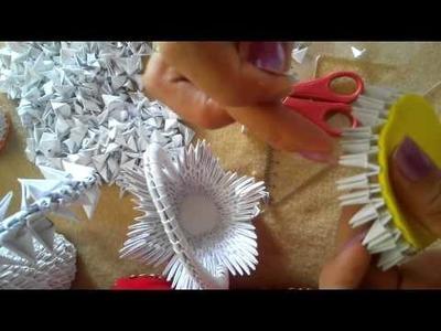 Canasta de origami 3D primera parte