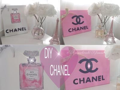 Chanel DIY Room Decor  , decoración inspirada en chanel