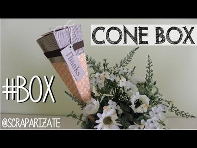 Cone Box -  Caja Cono