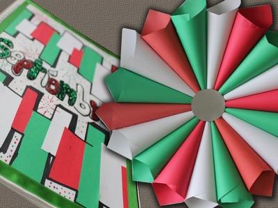 Corona de papel Decoración para FIESTAS PATRIAS (y portada de SEPT.)