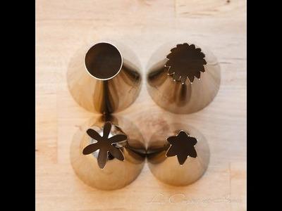 Curso de Cupcakes: Mangas y Boquillas
