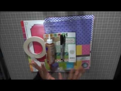 Scrap Tip 2 - Materiales Básicos en el Scrapbook