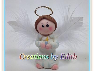 Tutorial angel en porcelana fria o pasta de goma