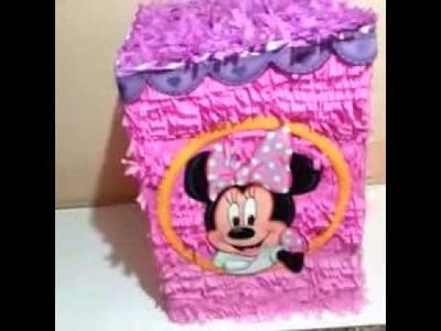 Caja de Regalo   Minnie