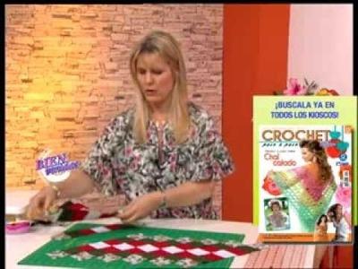Carolina Rizzi  - Bienvenidas TV - Realiza un camino de mesa navideño en patchwork.