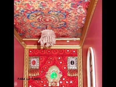 Casa Palacio en miniatura, decorado por Gloria García