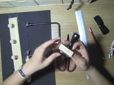Como fabricar un aplicador de tinta distress económico. Blending tool. Ranger.