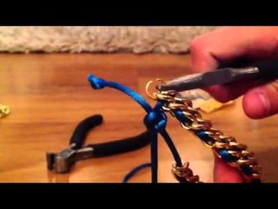 Como  hacer pulseras ! Super faciles y bonitas! ❤️