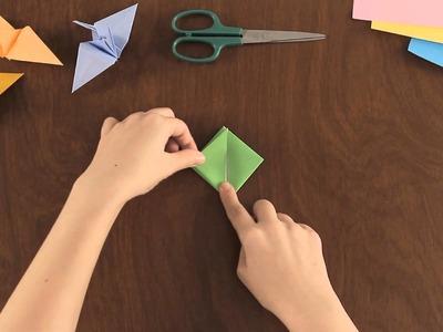 Como Hacer un Globo en Origami : Figuras Basicas en Origami