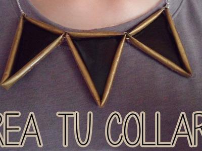 Crea tus accesorios - collar, super fácil - Tutoriales Belen